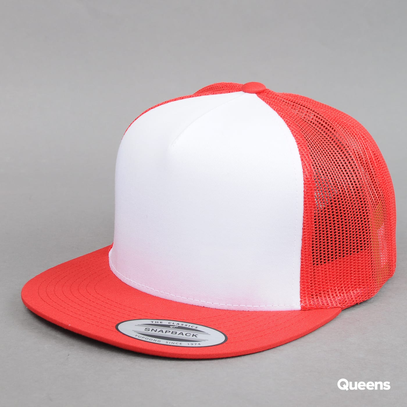 Urban Classics Classic Trucker red / white