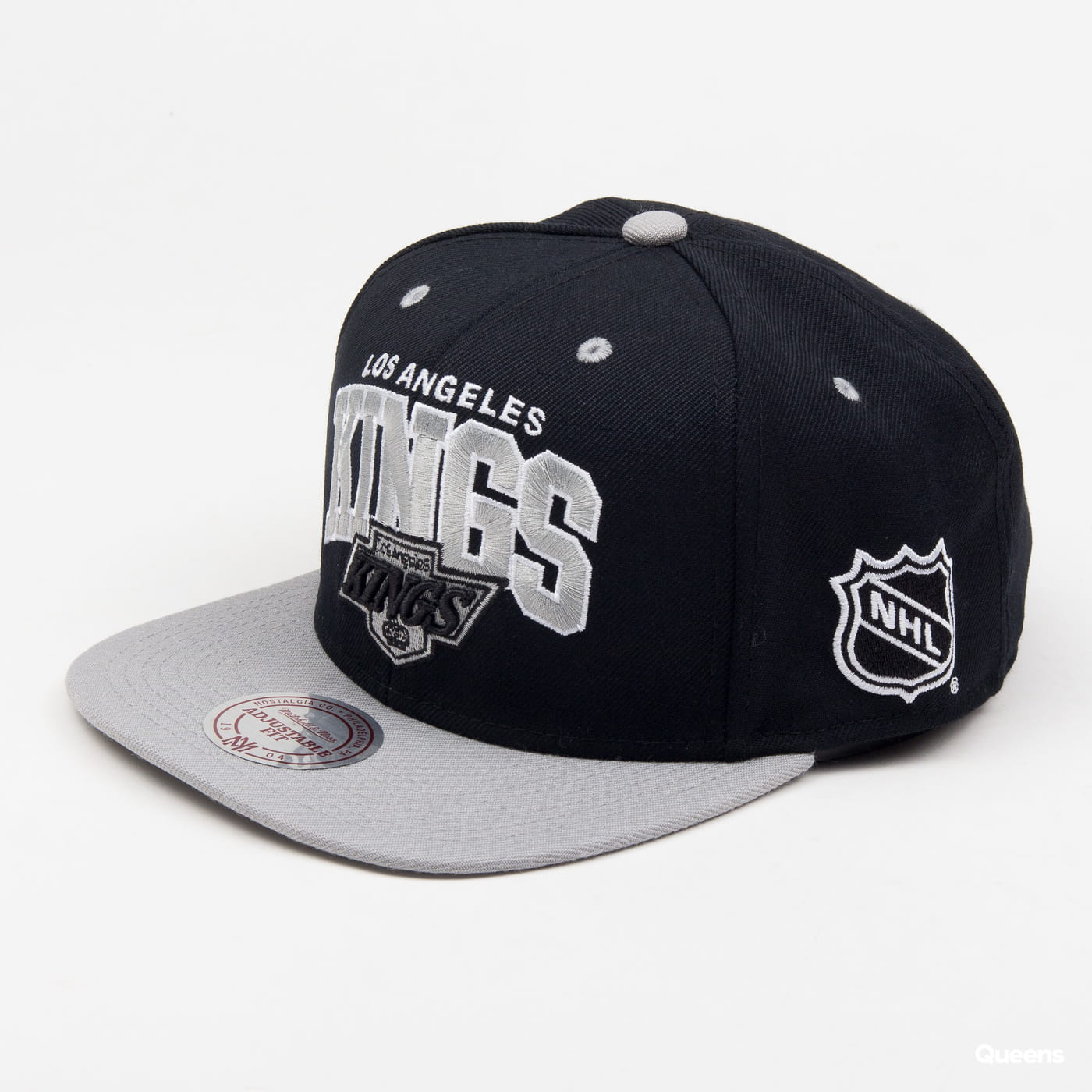 Mitchell & Ness Team Arch LA Kings čierna / šedá