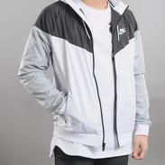 Nike M NSW Windrunner Jacket bílá / černá / šedá