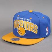 Mitchell & Ness Team Arch Golden State Warriors modrá / žlutá / šedá