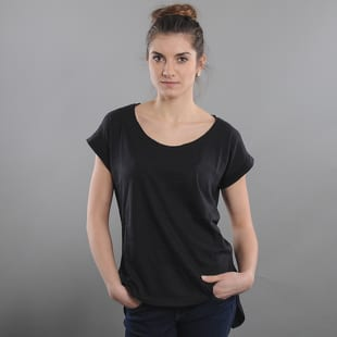 Urban Classics Ladies Long Back Shaped Slub Tee