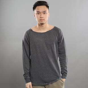 Urban Classics Long Burnout Open Edge Crewneck