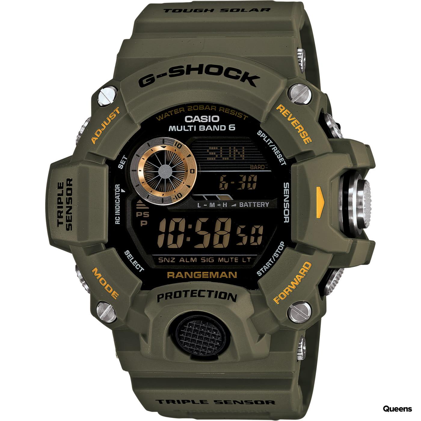 Casio G-Shock GW 9400-3ER olive