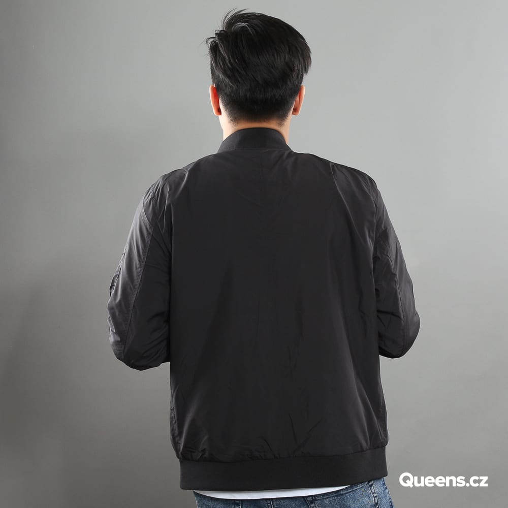 Urban Classics Light Bomber Jacket čierna