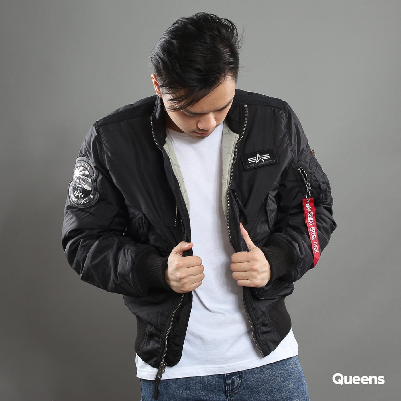 f5ec3d8a6 Bomber bunda Alpha Industries Engine (103101 03) – Queens 💚