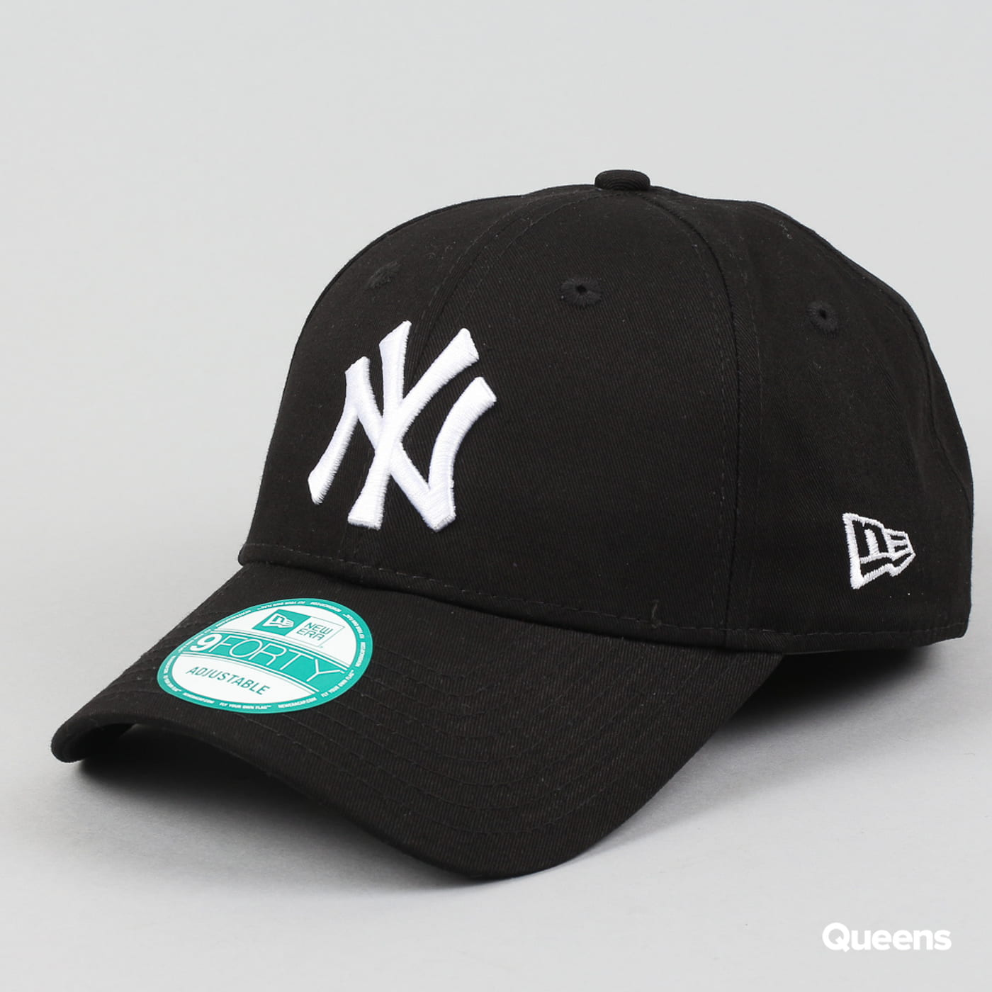 New Era 940 MLB League Basic NY C/O schwarz / weiß