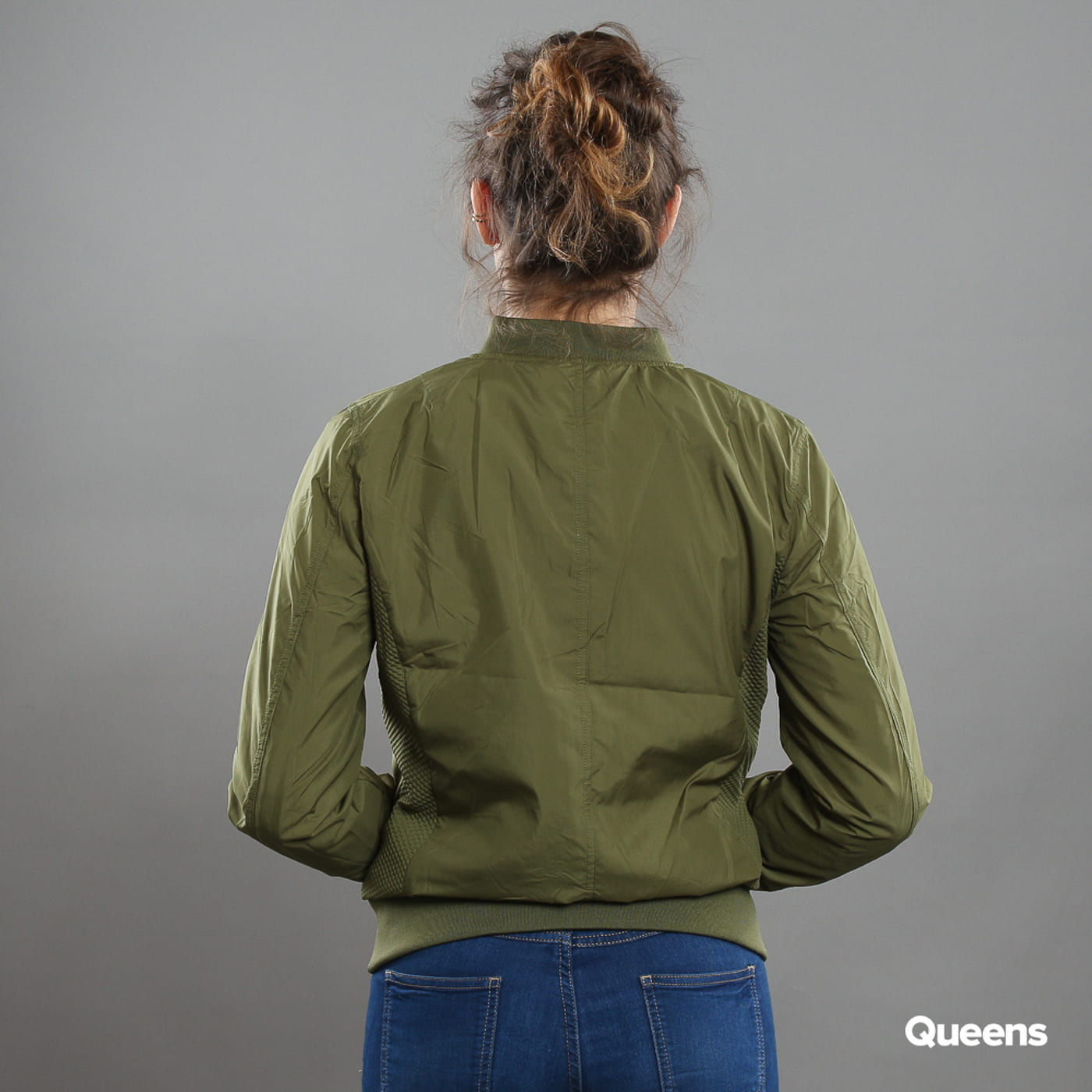 Urban Classics Ladies Light Bomber Jacket olive