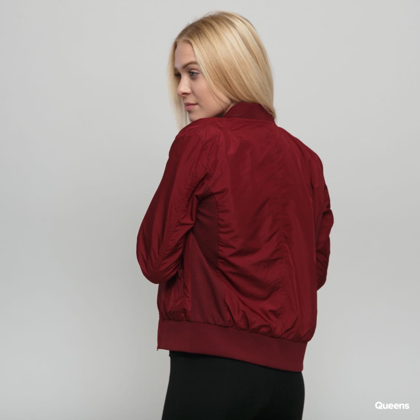 Urban Classics Ladies Light Bomber Jacket burgund