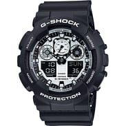 Casio G-Shock GA 100BW-1AER černé