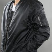 Urban Classics Long Bomber Jacket černá