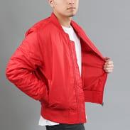 Urban Classics Basic Bomber Jacket červená