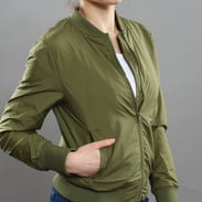 Urban Classics Ladies Light Bomber Jacket olivová