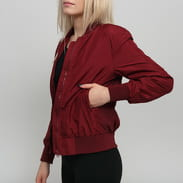 Urban Classics Ladies Light Bomber Jacket vínová