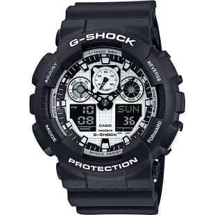 Casio G-Shock GA 100BW-1AER