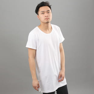 Urban Classics Long Shaped Side Zip Tee