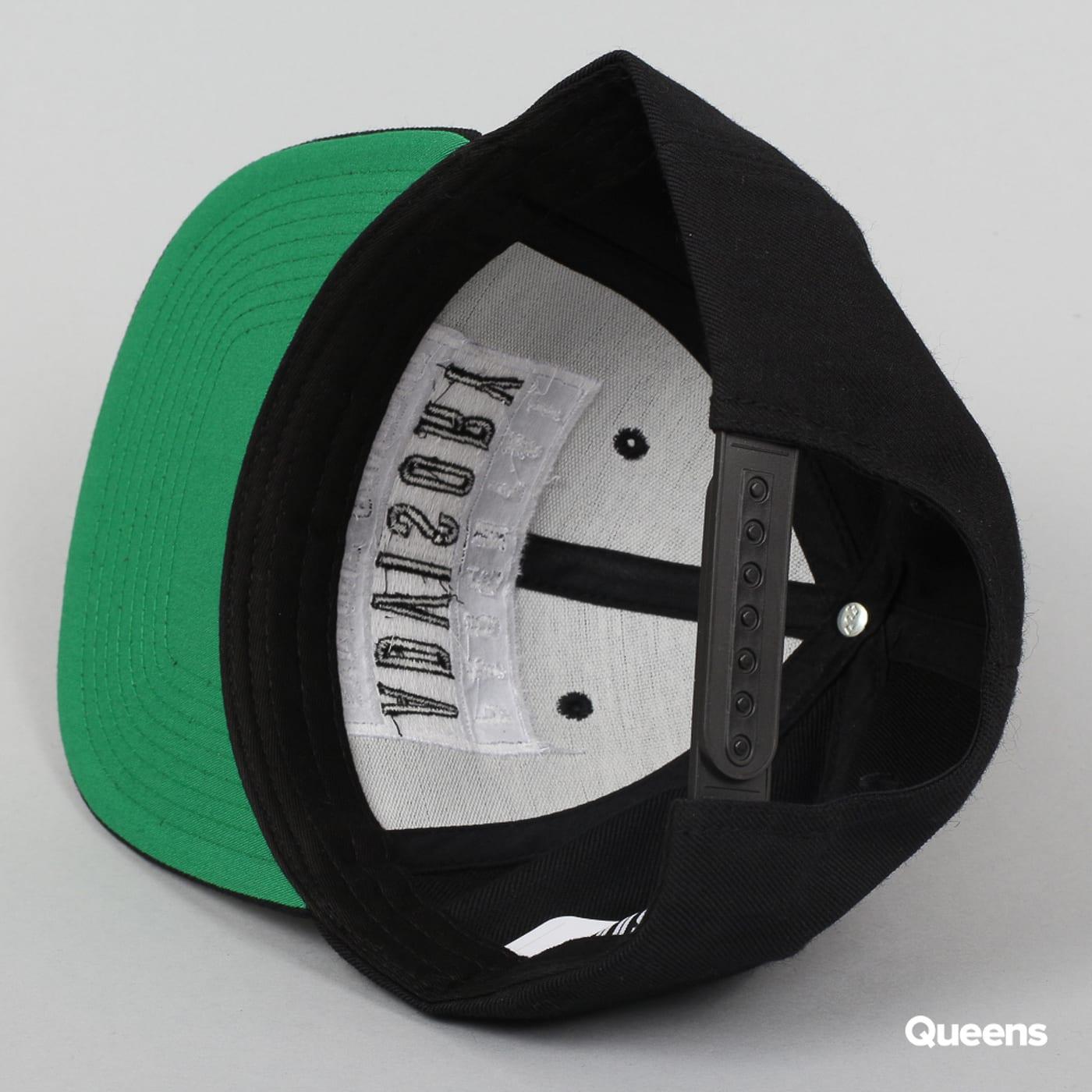 Urban Classics Parental Advisory Cap čierna / zelená
