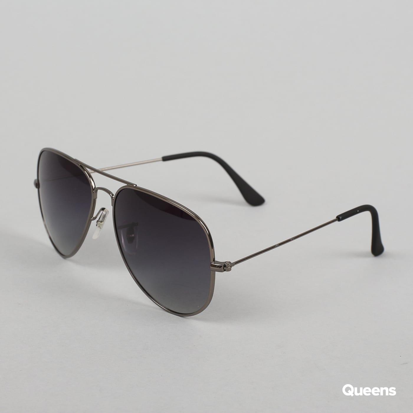 MD Sunglasses PureAv strieborné / šedé
