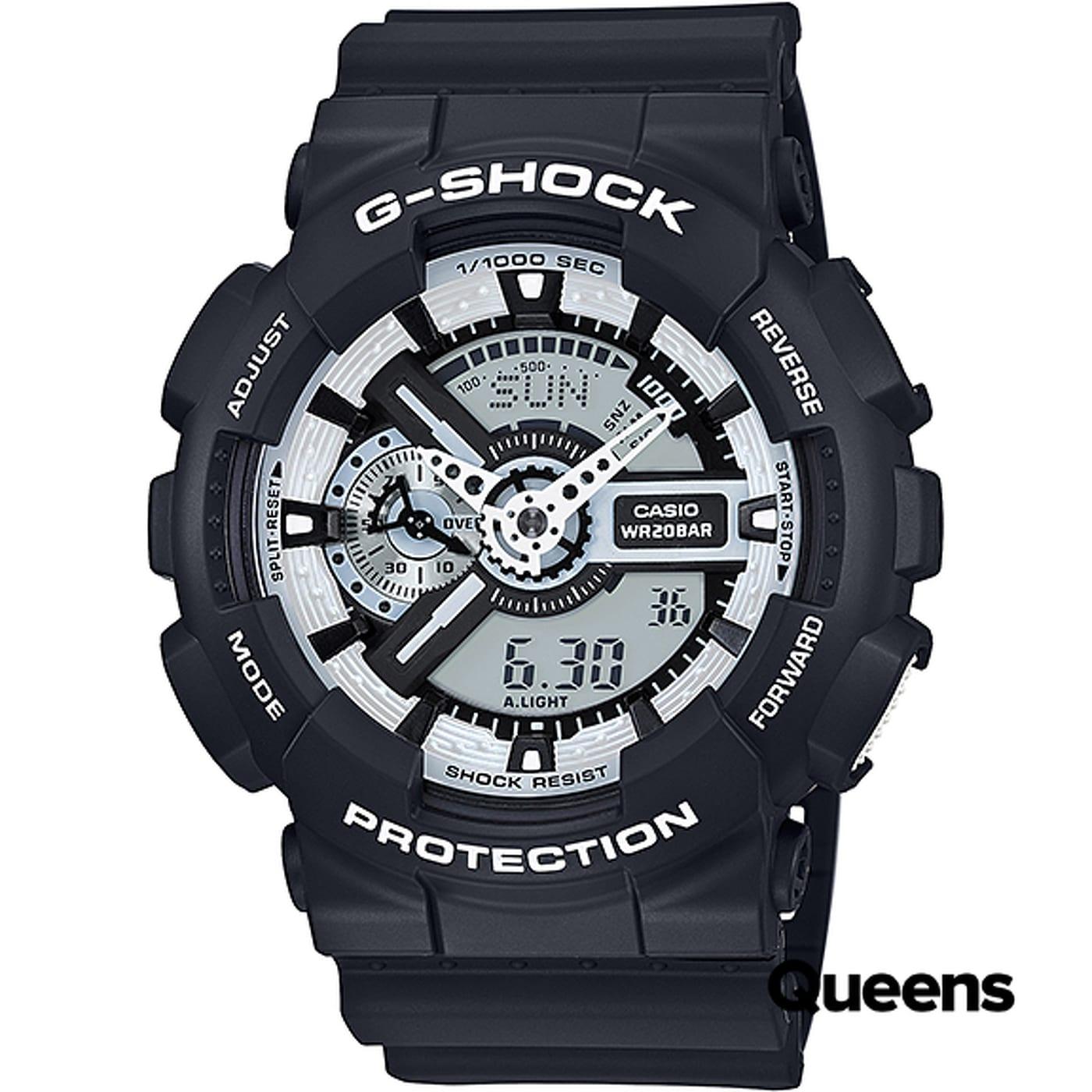 Casio G-Shock GA 110BW-1AER black