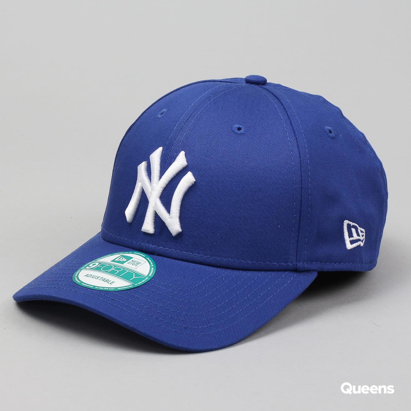 New Era 940 League Basic NY C/O blau / weiß