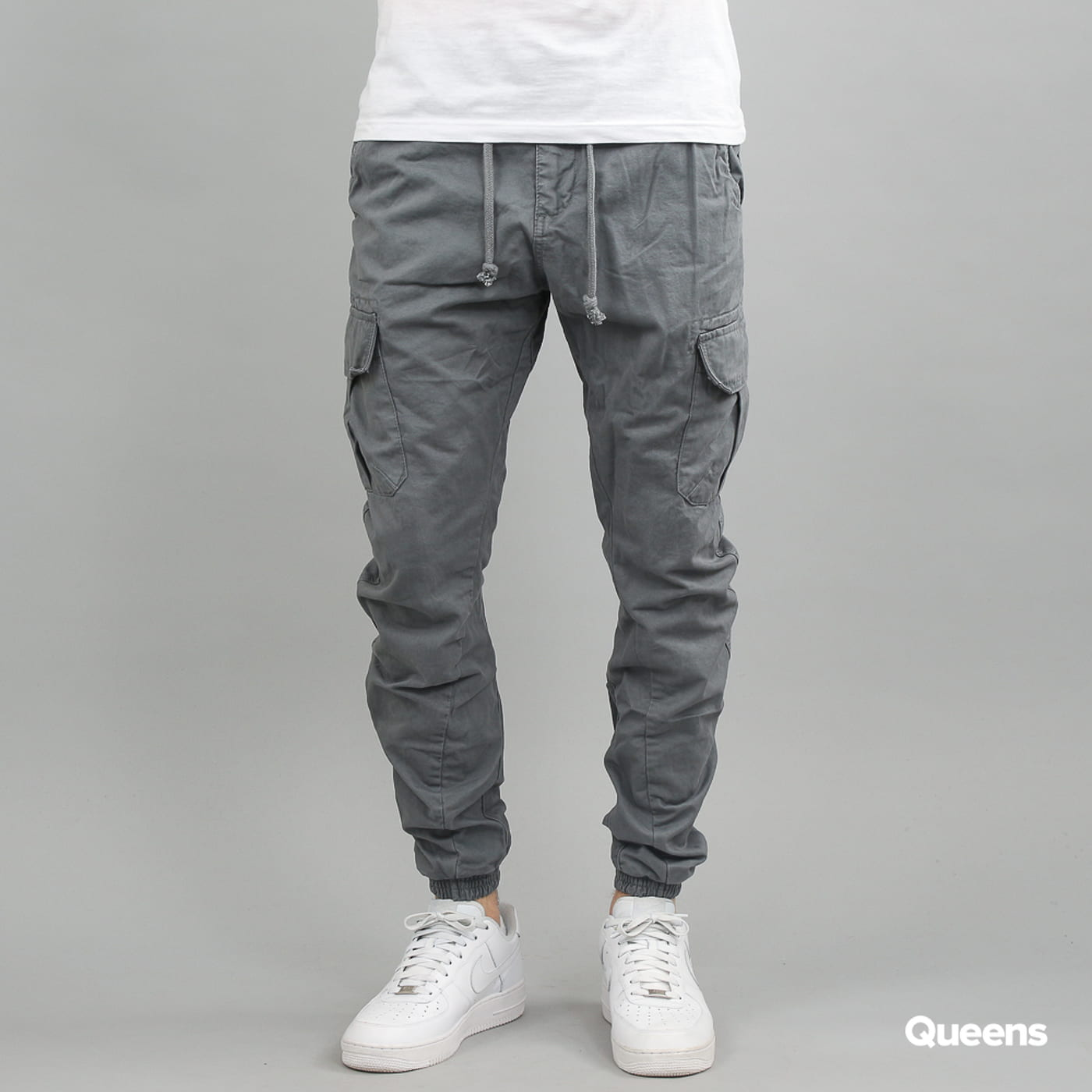 Urban Classics Cargo Jogging Pants dark gray