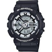 Casio G-Shock GA 110BW-1AER černé
