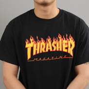Thrasher Flame Logo čierne