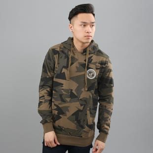 Criminal Damage Army Pullover Hood