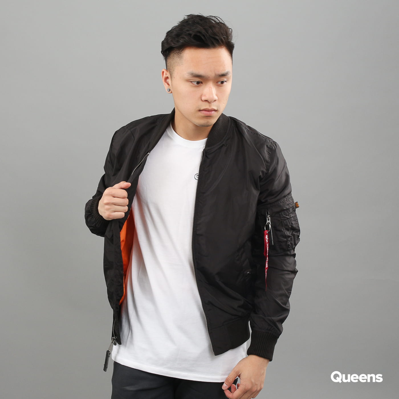 Alpha Industries MA - 1 TT black