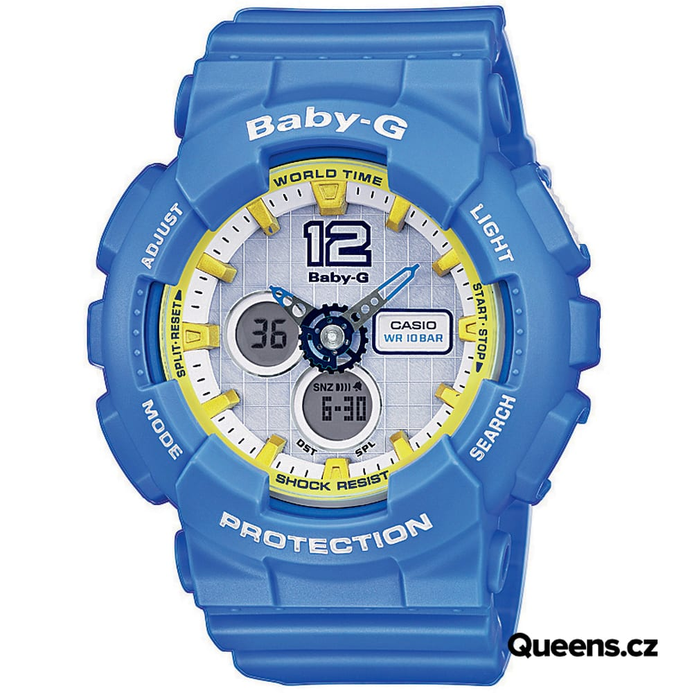 Casio Baby-G BA 120-2BER blau