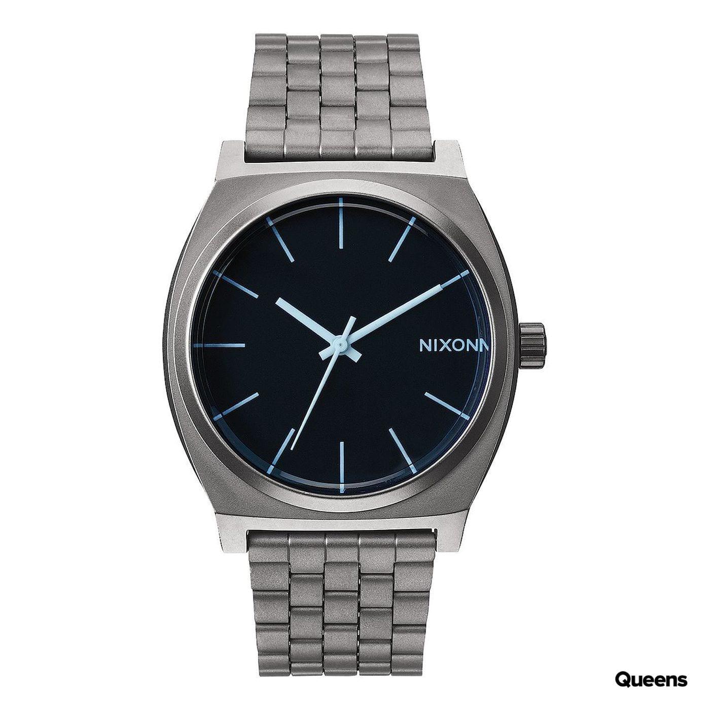 Nixon Time Teller silver / black / blue