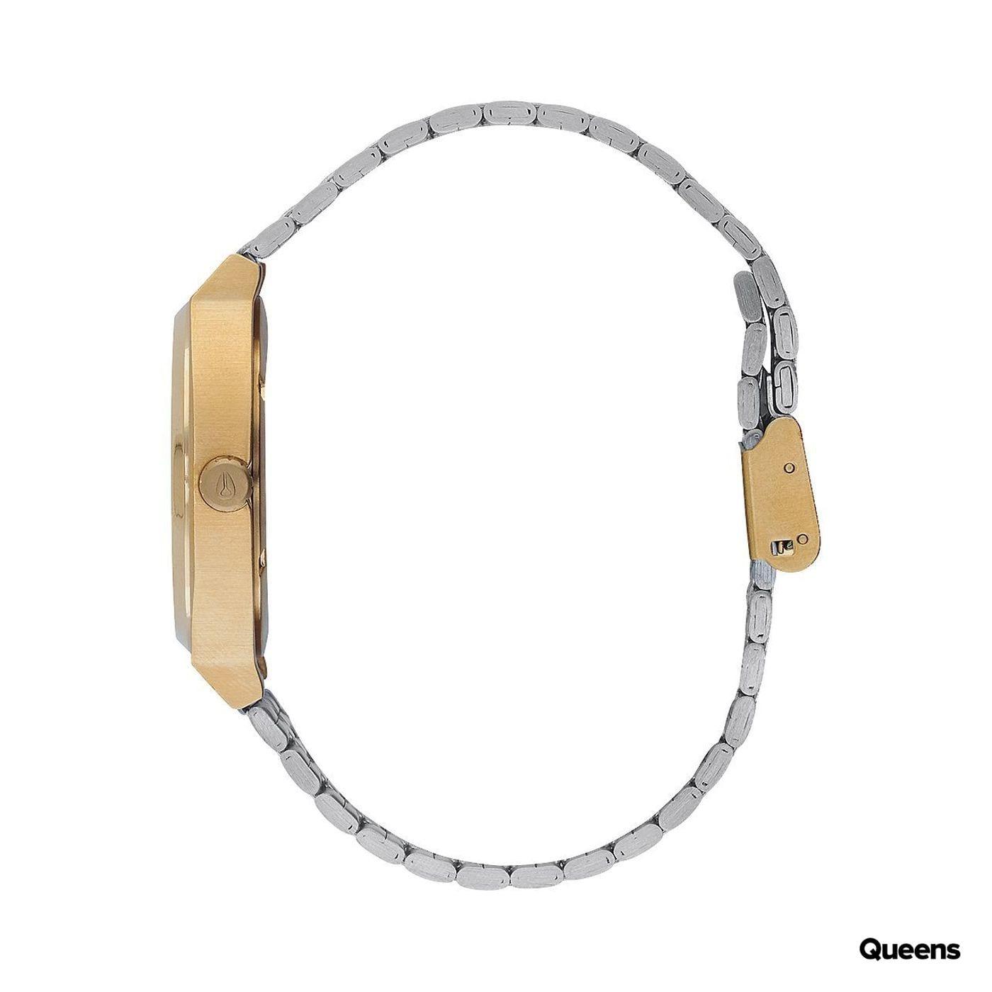 Nixon Time Teller silber / gold