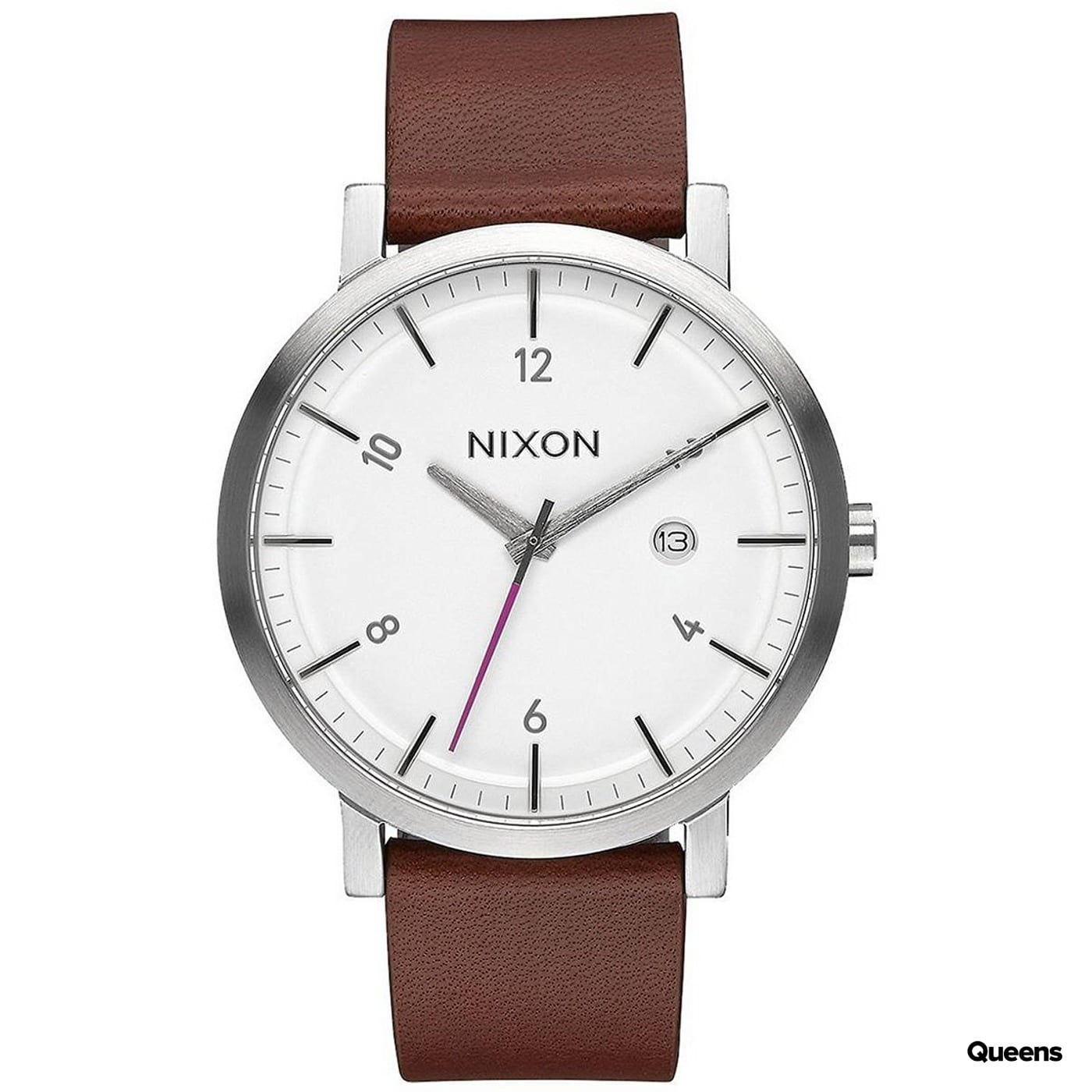 Nixon Rollo silber / braun / weiß