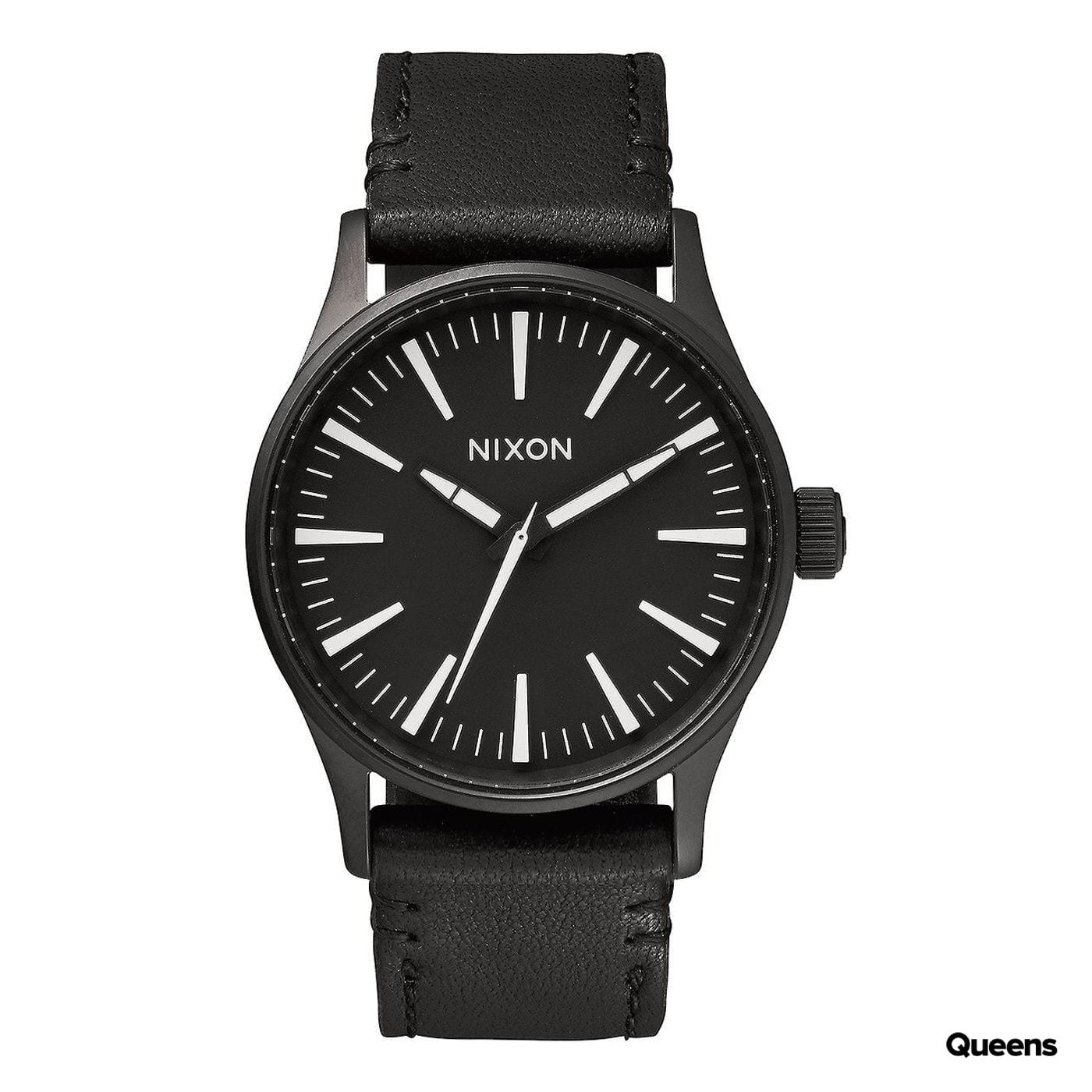 Nixon Sentry 38 Leather čierne