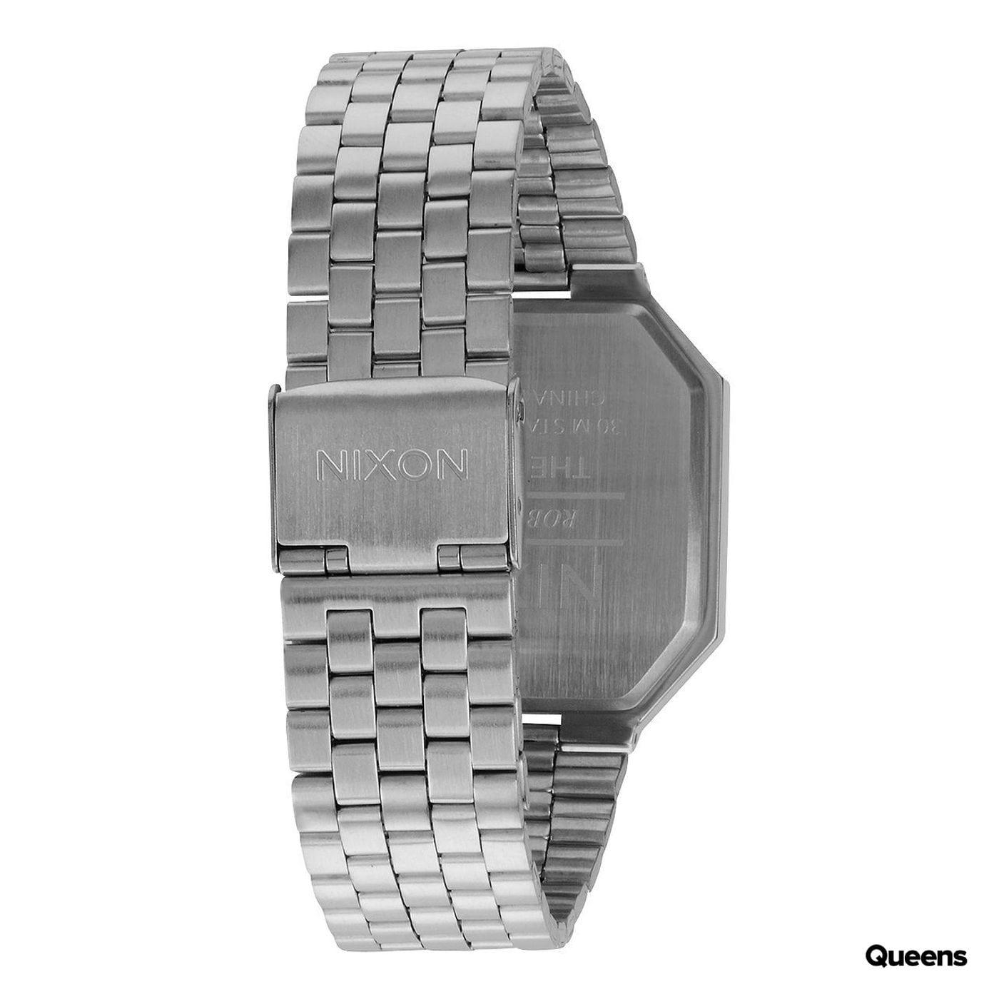Nixon Re-Run silver / black