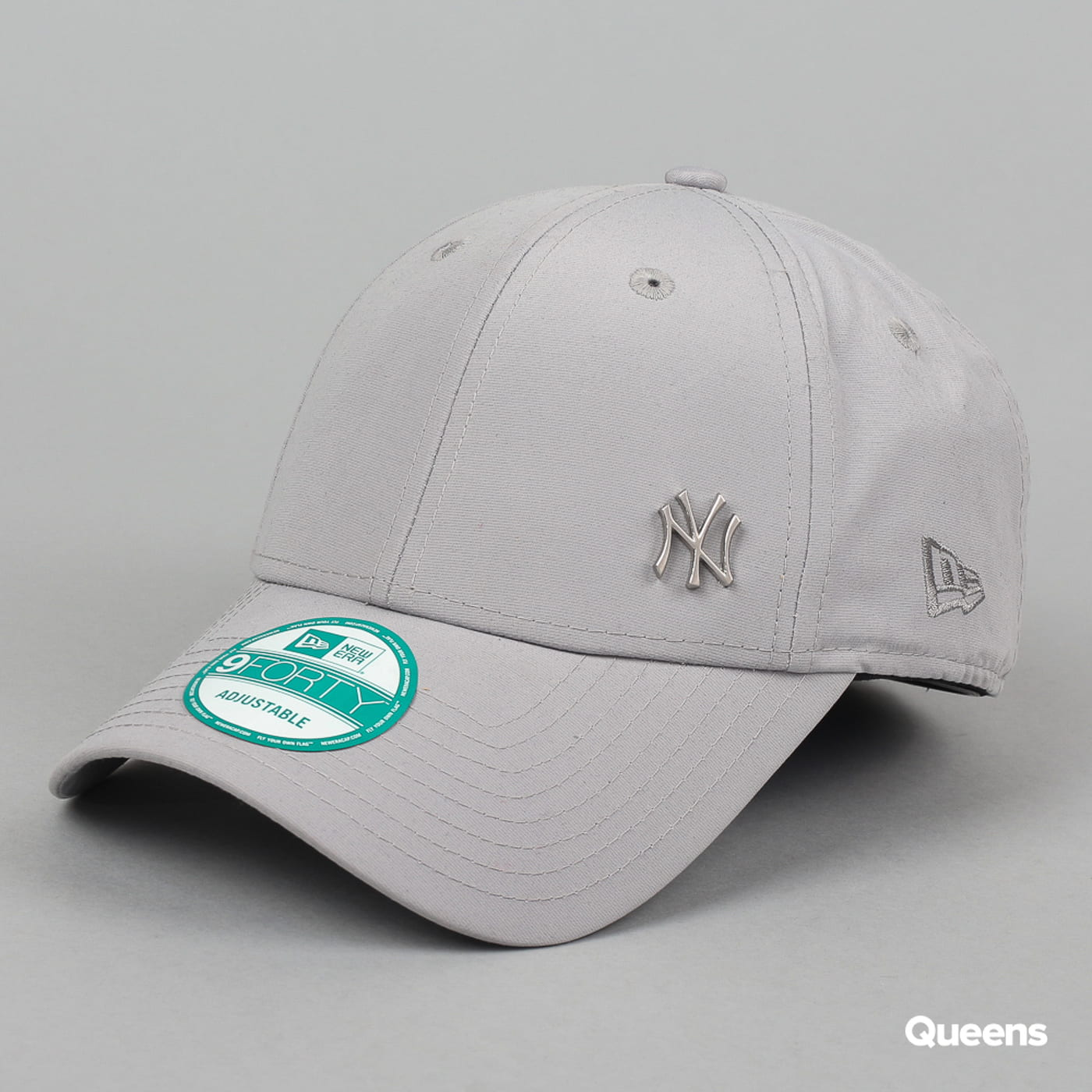New Era Flawless Logo NY C/O grau