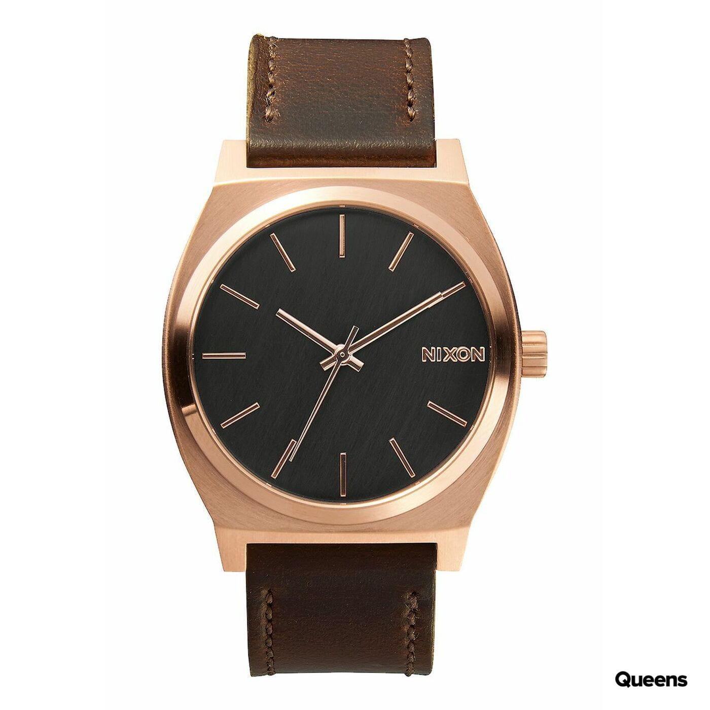 Nixon Time Teller hnedé / bronzové / čierne