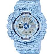 Casio Baby-G BA 110DC-2A3ER light blue denim