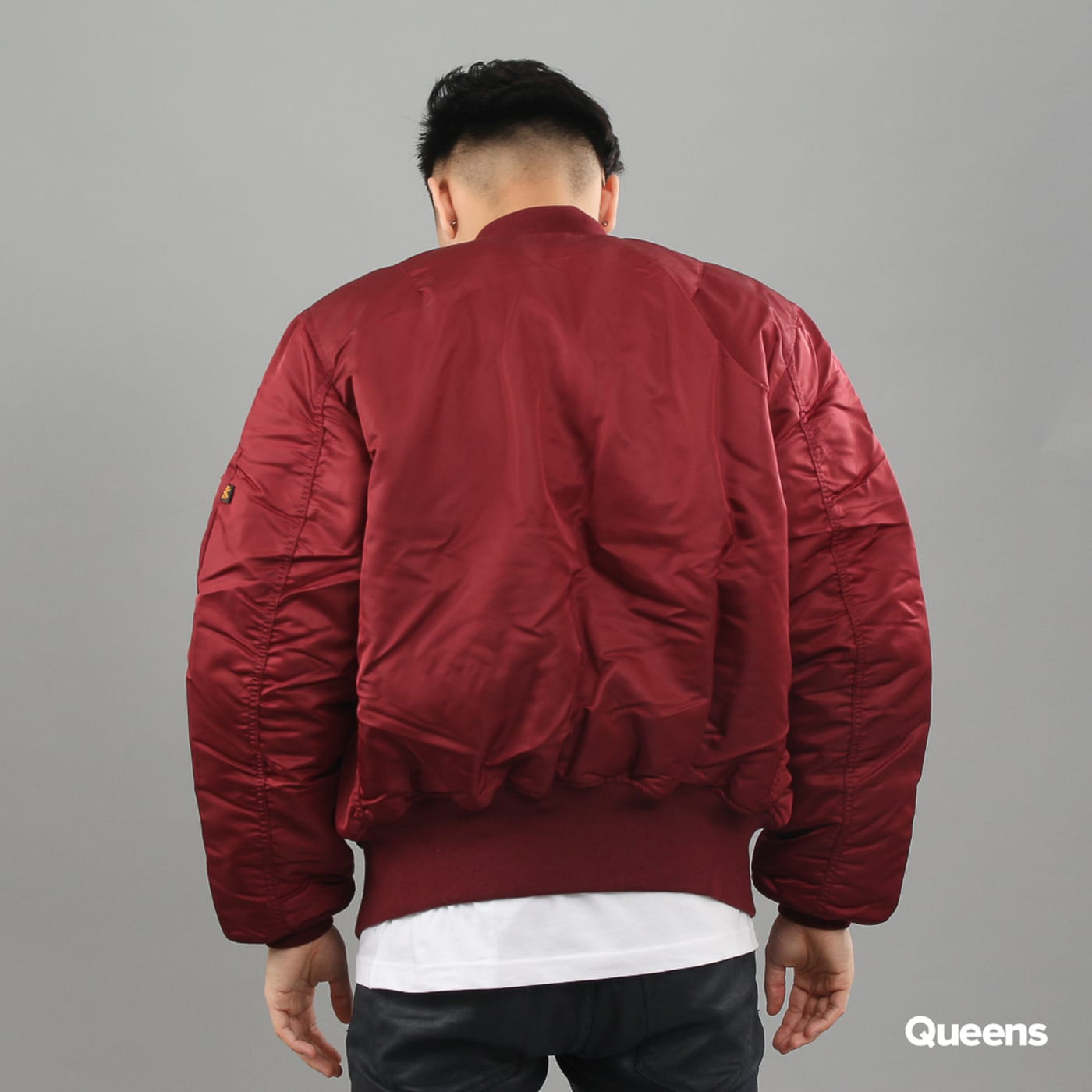Alpha Industries MA-1 bordeaux