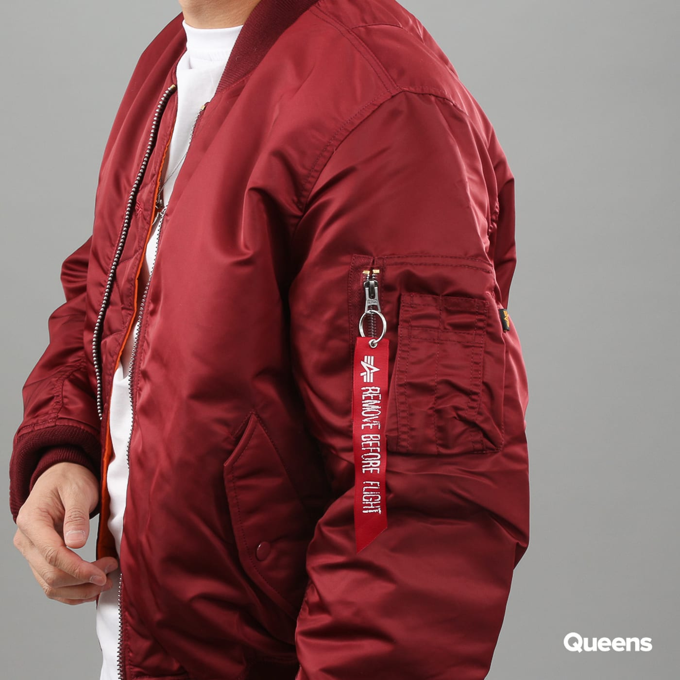 Alpha Industries MA-1 burgund