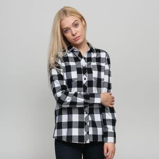 Urban Classics Ladies Turnup Checked Flanell Shirt