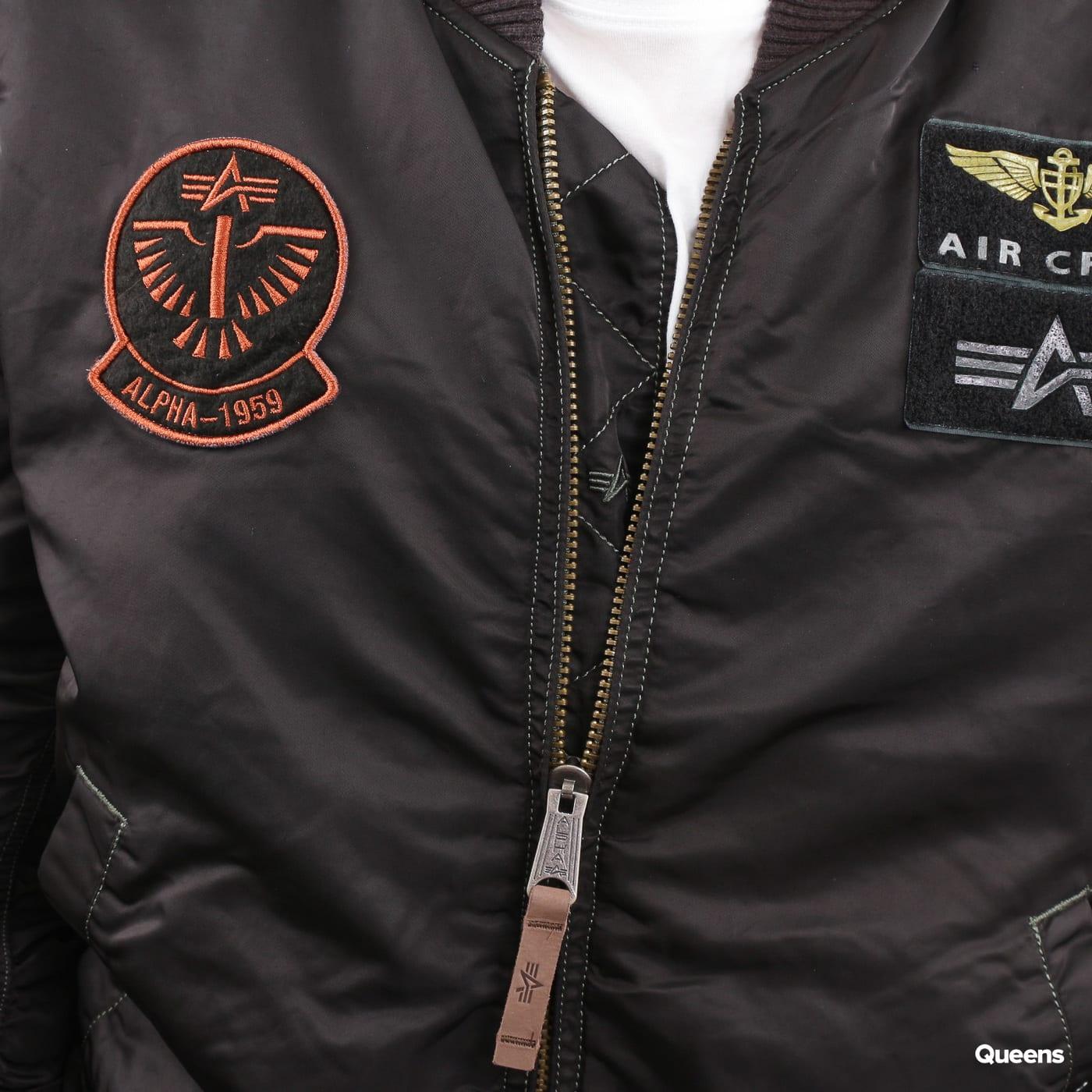 Alpha Industries MA - 1 Pilot schwarz