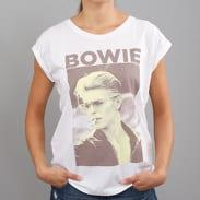 Urban Classics Ladies David Bowie Tee bílé
