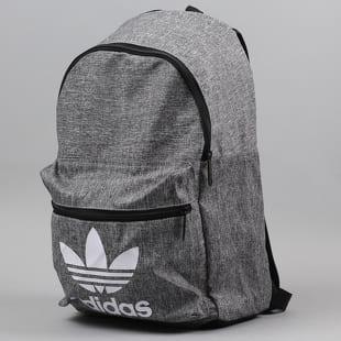 adidas Backpack CL Melange melange šedý / černý