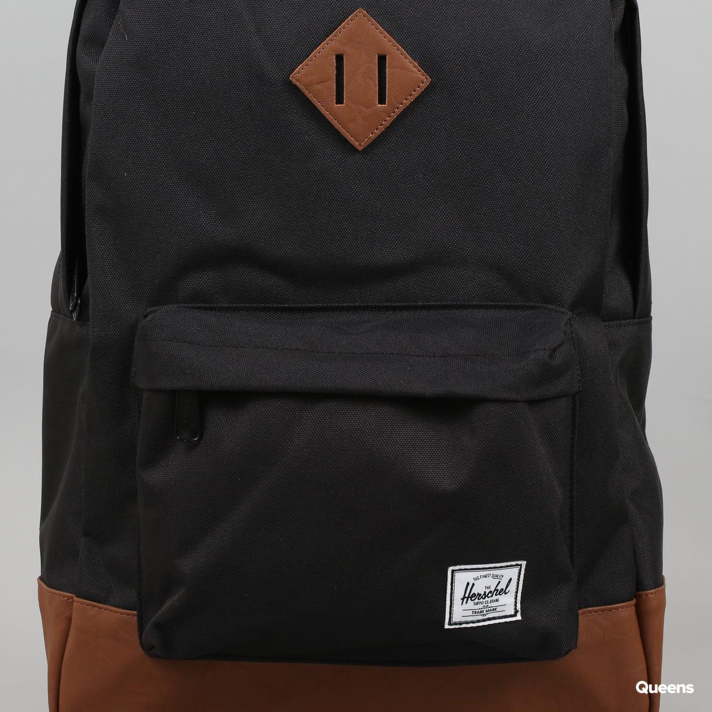 The Herschel Supply CO. Heritage Backpack čierny / hnedý