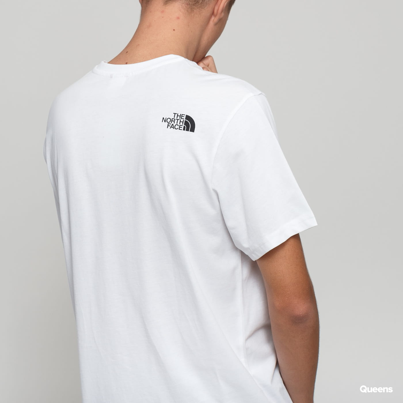 The North Face M Simple Dome Tee biele