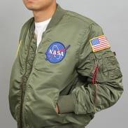 Alpha Industries MA - 1 VF NASA olivová