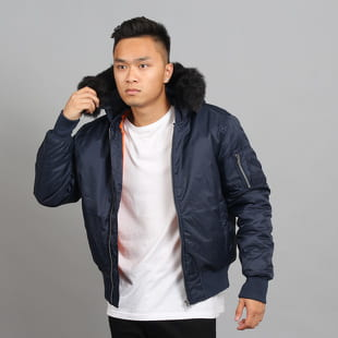 Urban Classics Hooded Basic Bomber Jacket