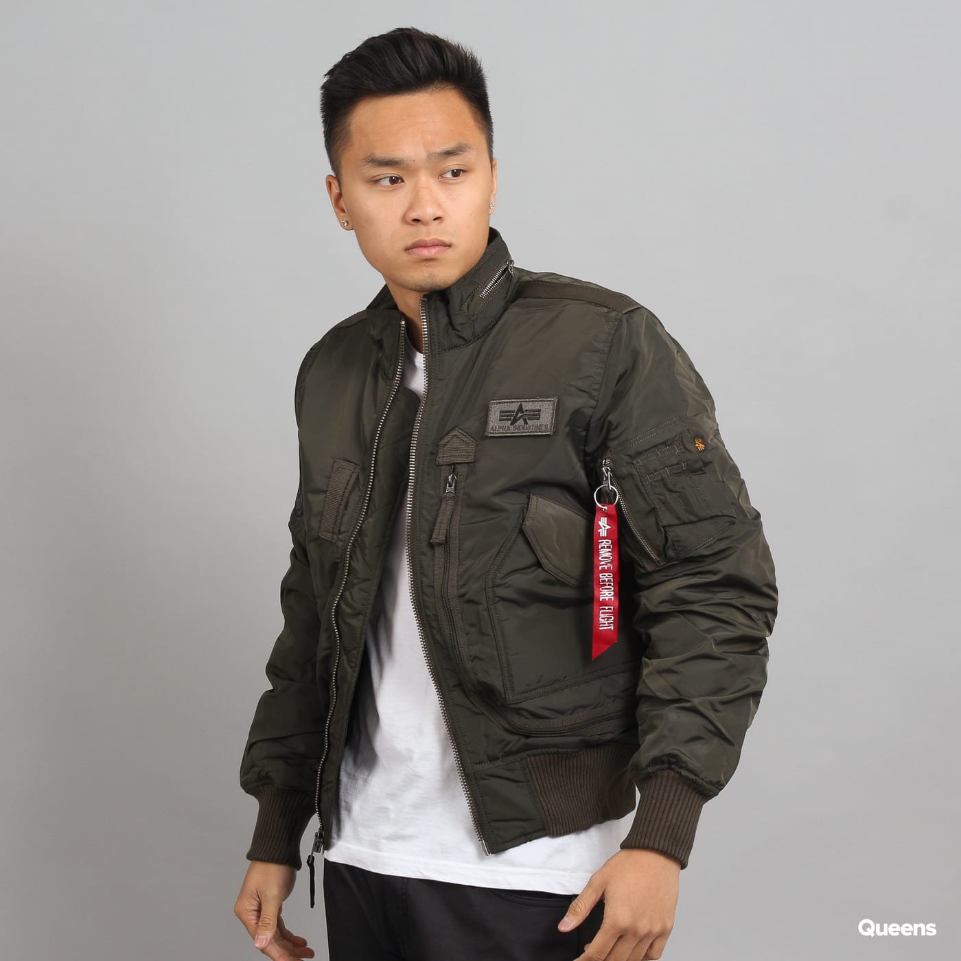 88e2ae120 Bomber bunda Alpha Industries Engine (103101 04) – Queens 💚