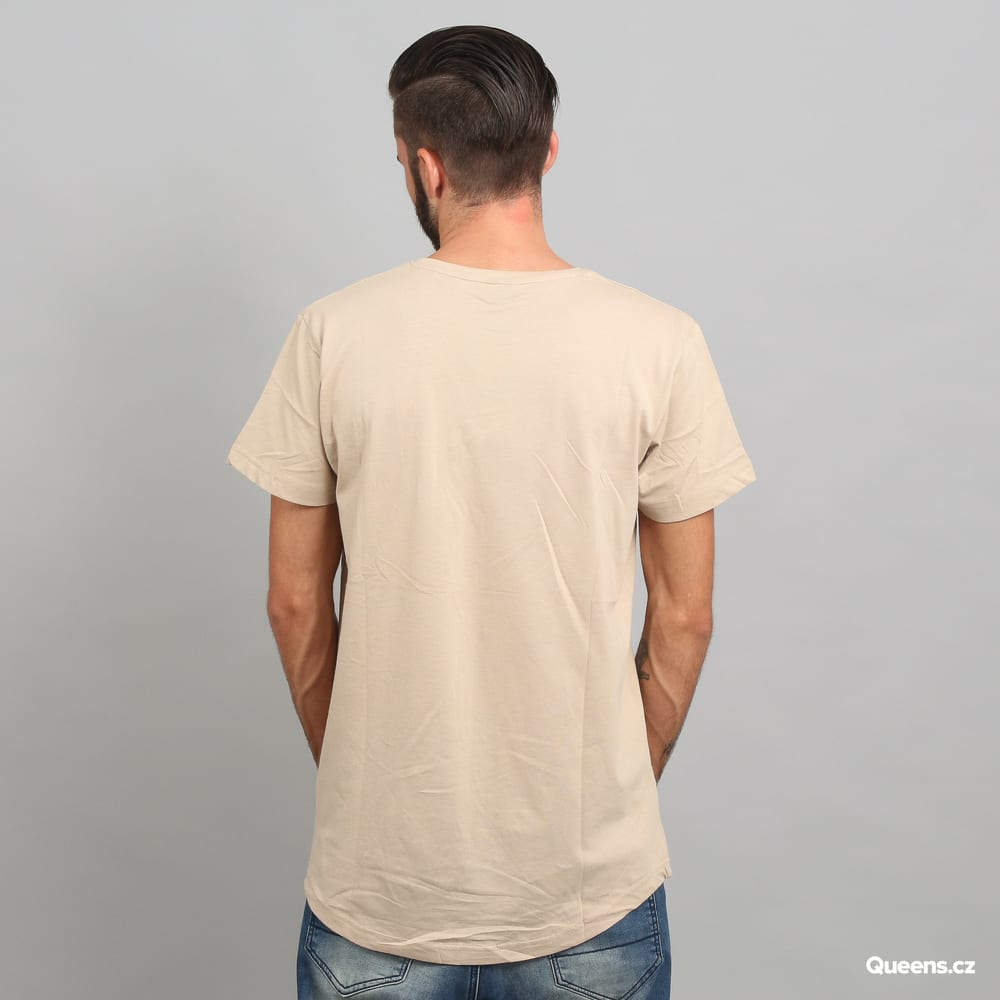 Urban Classics Shaped Long Tee beige