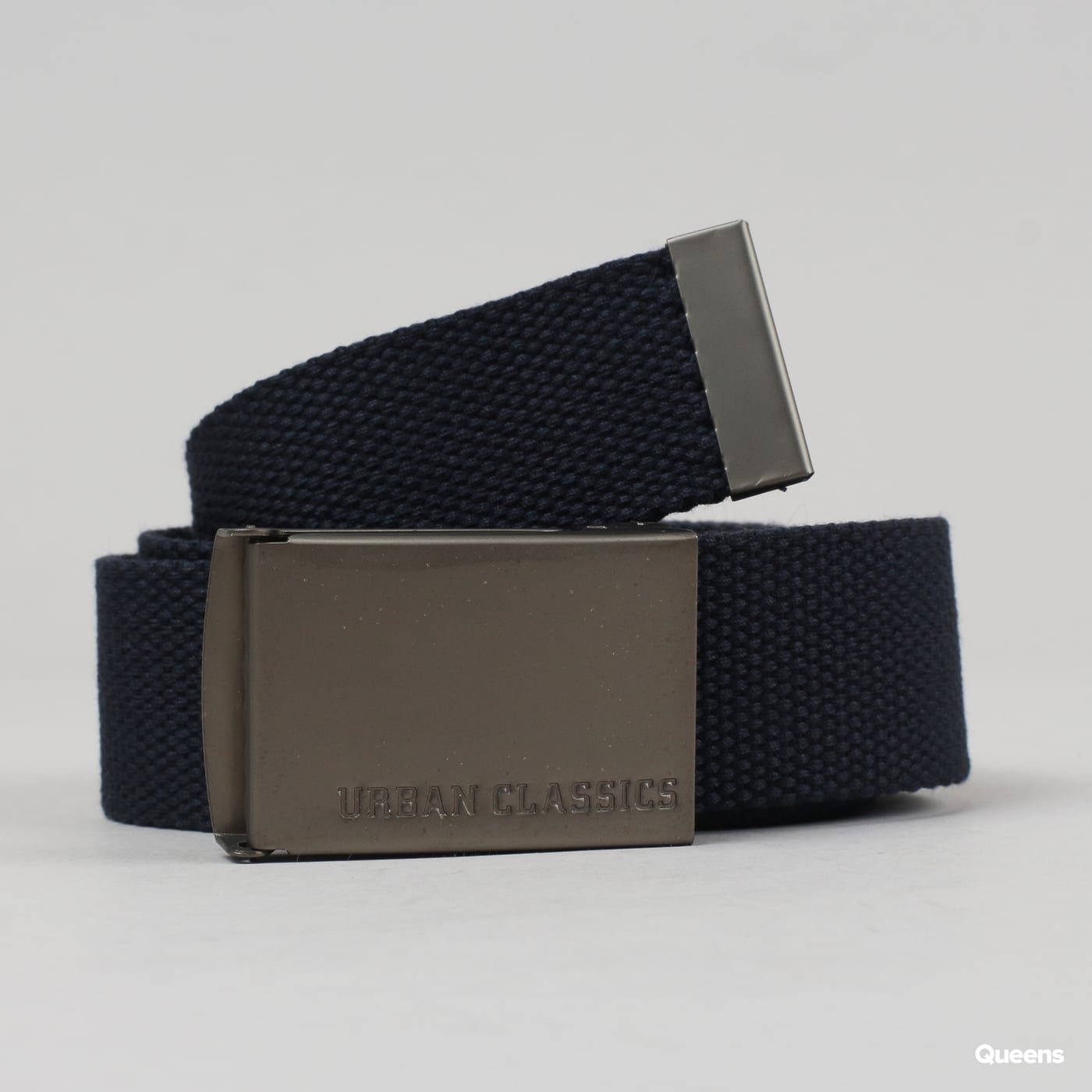 Urban Classics Canvas Belt navy